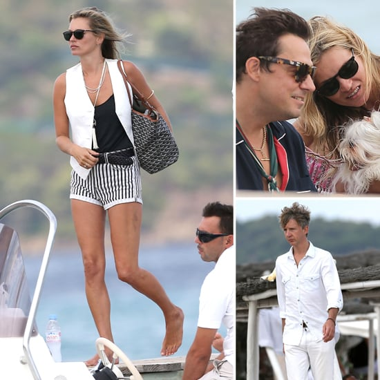Kate Moss Has a Vacation Lunch With Her Husband and Her Ex