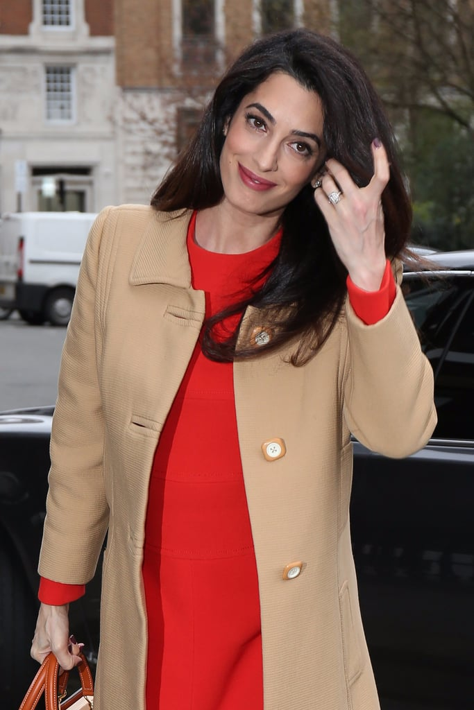 Amal Clooney Looks Business Professional Right Until You See Her Shoes