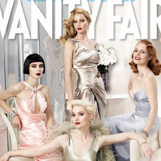 Vanity Fair Hollywood Issue Photo Shoot (Video)
