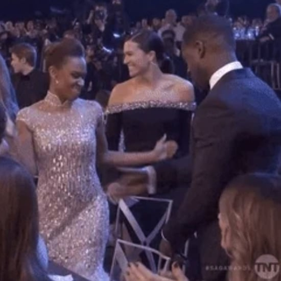 Sterling K. Brown and Ryan Michelle Bathe at 2019 SAG Awards