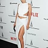 Jennifer Lopez White Dress Pictures