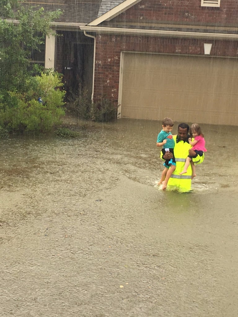 Hurricane Harvey Heroes and Good Samaritans Rescue Victims