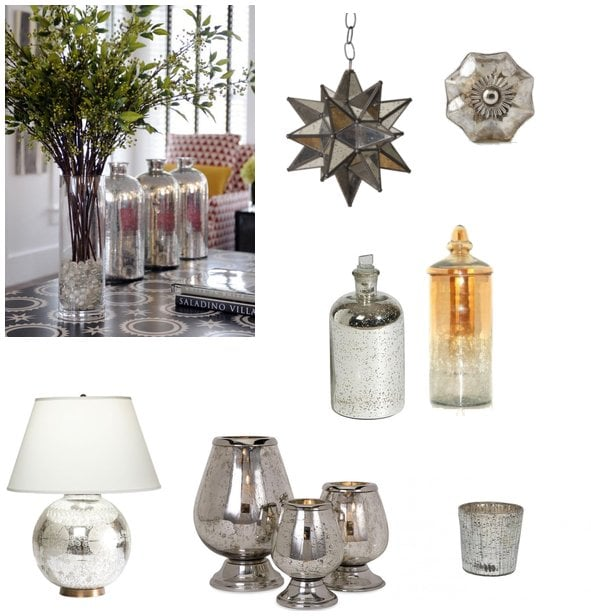 decorating with mercury glass popsugar home