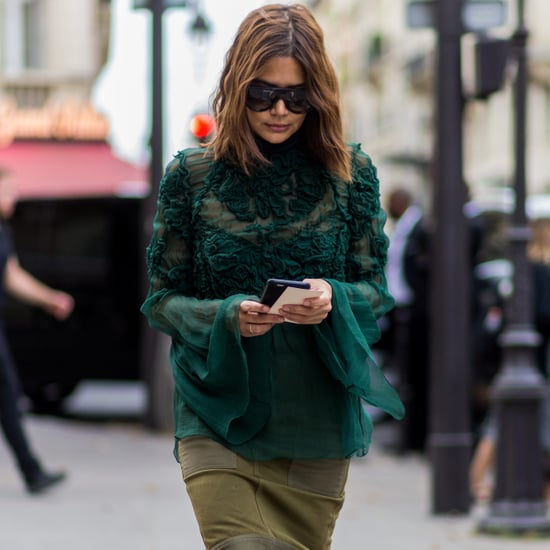 How to Wear a Midi Skirt and Over-the-Knee Boots