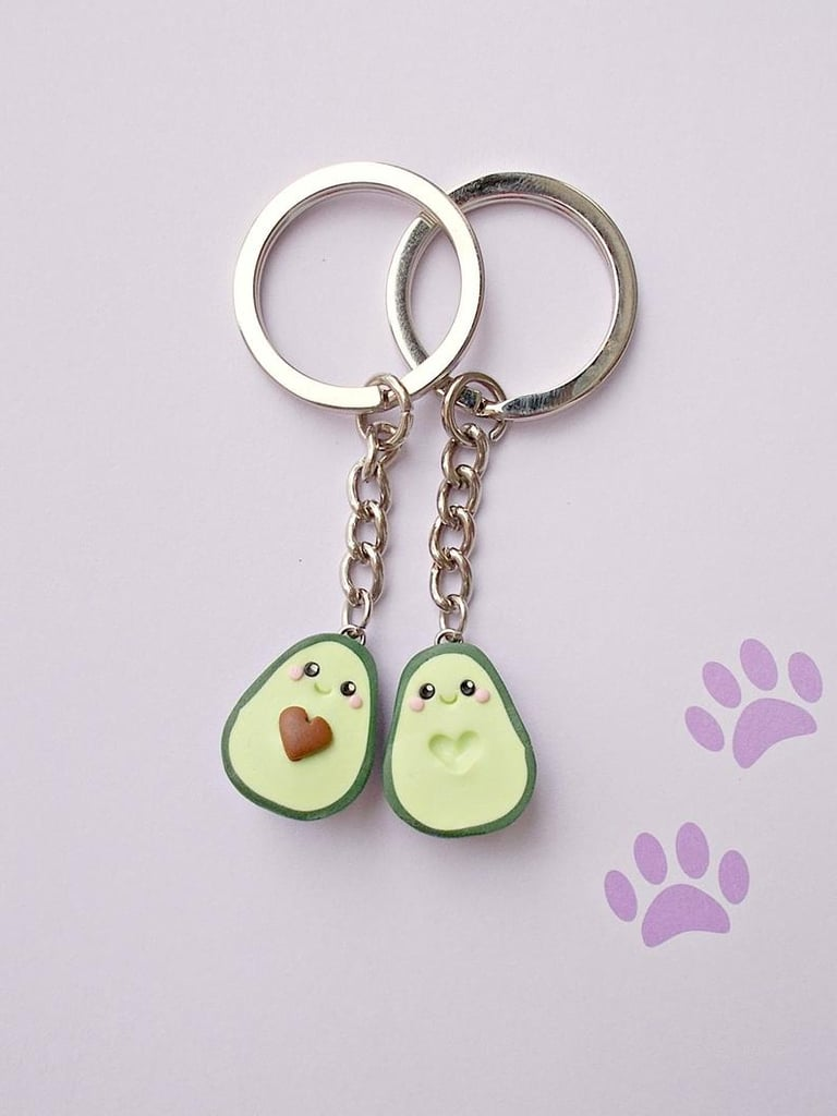 Avocado Key Chain Set