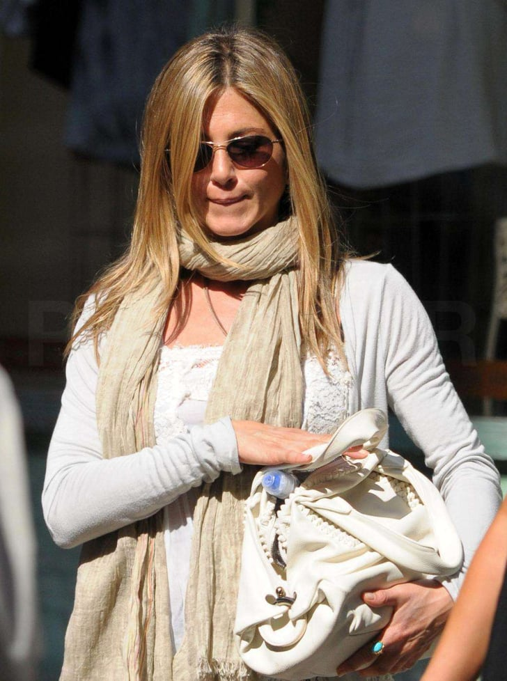 Photos Of Jennifer Aniston Shopping For Lingerie In Nyc