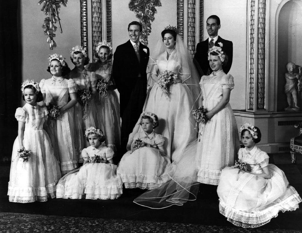Princess Margaret Wedding.Princess Margaret S Wedding On The Crown Popsugar Celebrity Australia