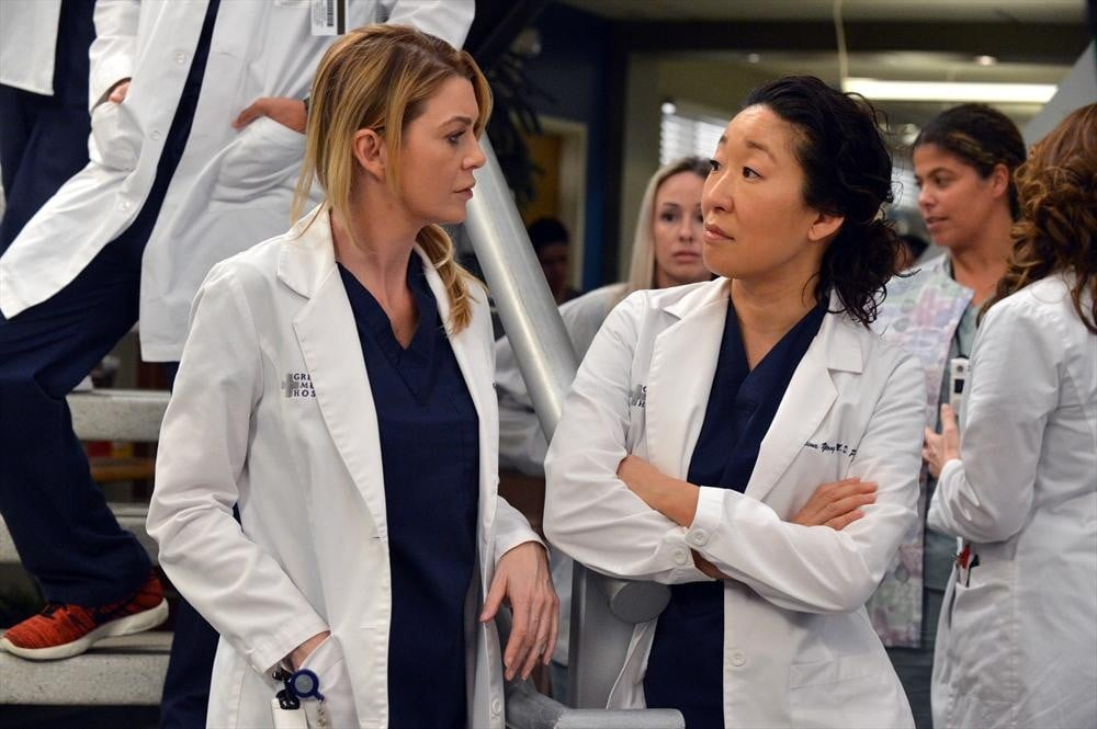 Cristina And Meredith Mending Greys Anatomy Recap For Take It