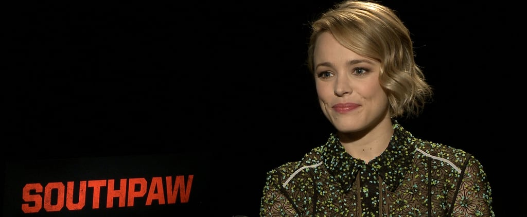 Rachel McAdams Southpaw Interview (Video)