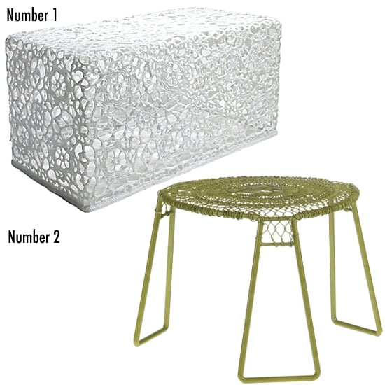 Less or More: Crochet Tables