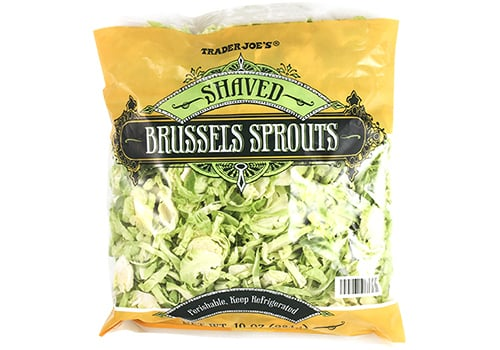 Shaved Brussels Sprouts ($3)