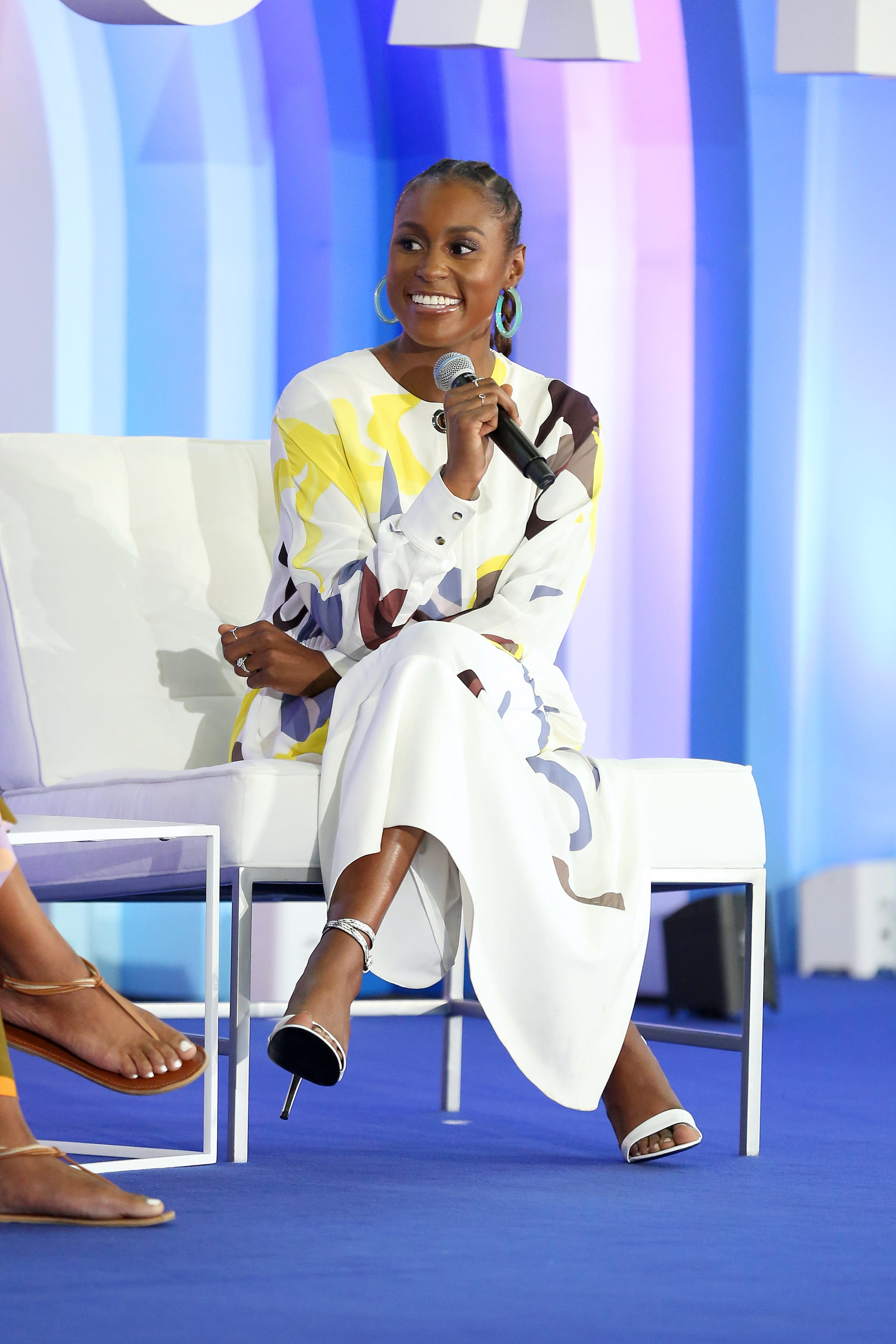 NEW YORK, NEW YORK - JUNE 23: Issa Rae speaks during