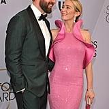 Emily Blunt Pink Dress at the SAG Awards 2019