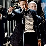 Justin Timberlake entertained the audience with a blast from the past performance.