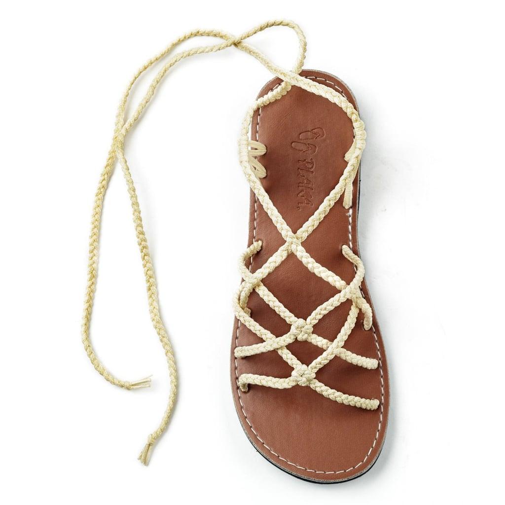ae4c3d2dd55b Plaka Flat Gladiator Sandals