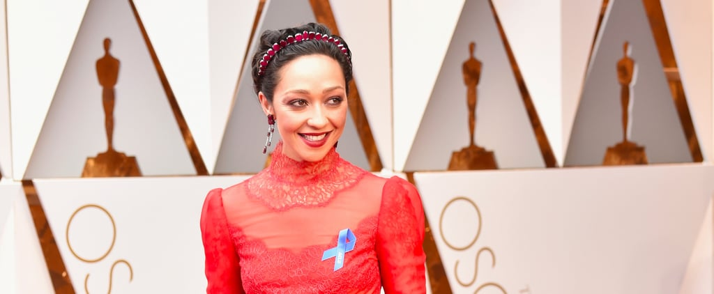 Ruth Negga Took This Eyeshadow Trend to the Next Level on the Oscars Red Carpet