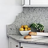 We love the edges of the stone backsplash!