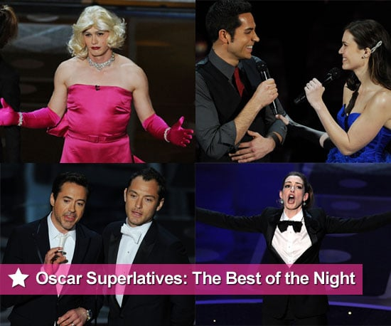 2011 Oscars Show Best of the Night, Including James Franco, Robert Downey Jr, and More