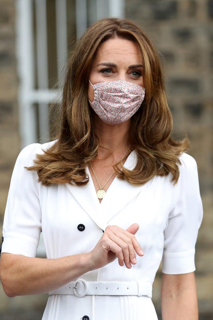 Kate Middleton's Outfit at Baby Basics UK