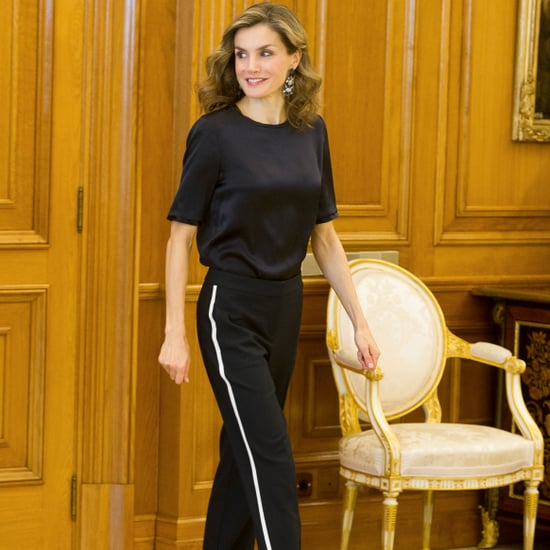 Queen Letizia's Track Pants October 2016