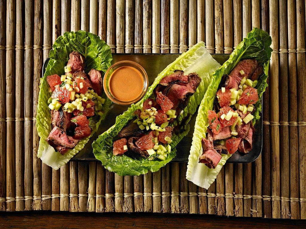Tandoori Steak Wraps