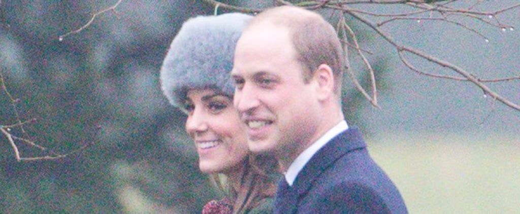 Kate Middleton and Prince William Join Queen Elizabeth For Sunday Service
