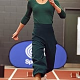 Kate Middleton Wearing Sneakers at a SportsAid Stars Event in London