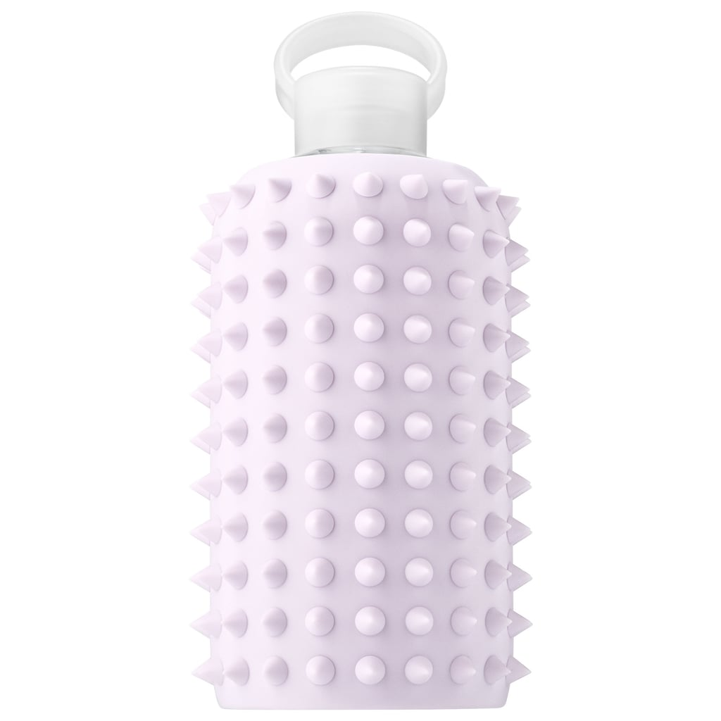 Spiked 16-Ounce Silicone Glass Water Bottle