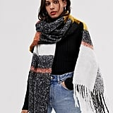 ASOS Design Oversized Check Scarf