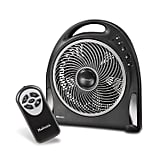 Holmes 12-Inch Fan Blizzard Rotating Fan With Remote Control