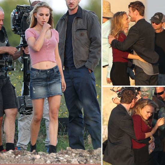 Natalie Portman and Michael Fassbender Shoot Love Scenes