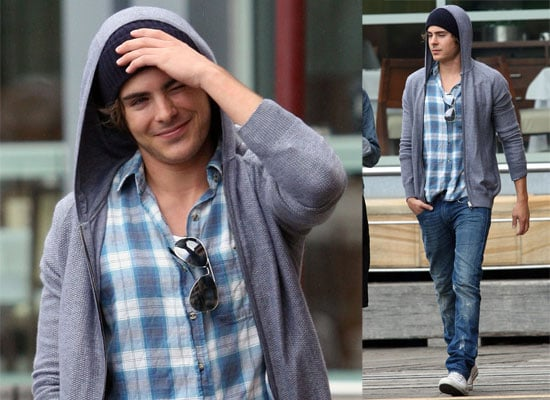 Photos Of Zac Efron In Sydney Australia Promoting 17 Again