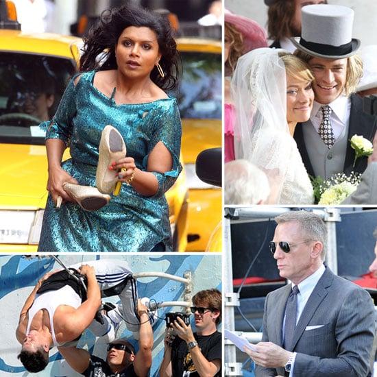Daniel Craig, Olivia Wilde, Mindy Kaling, and More Stars on Set!