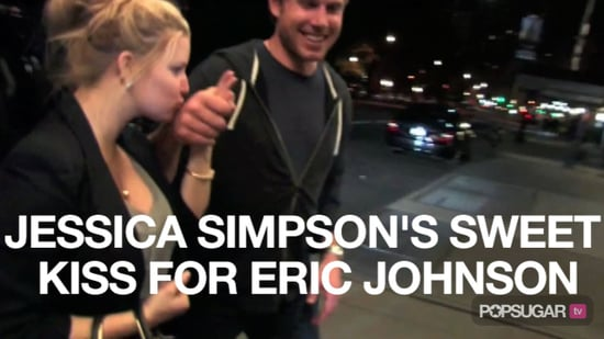 Video of Jessica Simpson Kissing Eric Johnson 2010-10-14 09:35:06