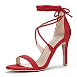 Allegra K Lace-up Sandals