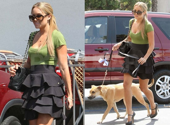 Photos of Lauren Conrad Out With Her Dog Chloe