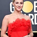 Lili Reinhart at Golden Globes