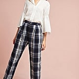 Anthropologie 3x1 NYC Plaid Pants