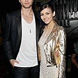 Victoria Justice hung out with actor Pierson Fode at Vanity Fair and Fiat's Toast to Young Hollywood event.