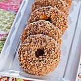 Vegan Pecan-Pumpkin Glazed Doughnuts