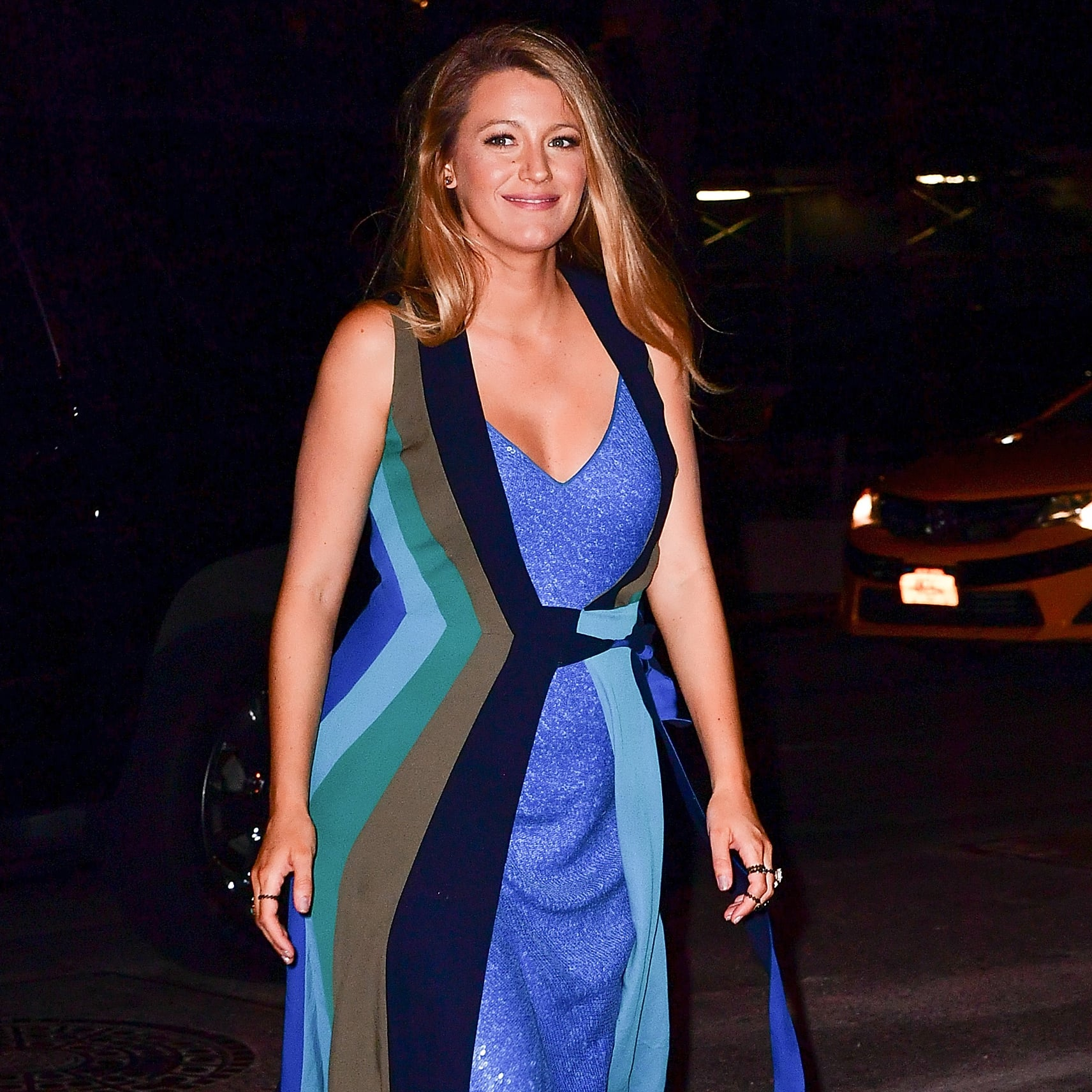 af021b92ef Blake Lively s DVF Dress July 2016