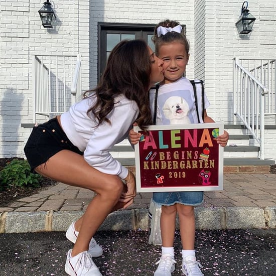 Kevin Jonas's Daughter on Her First Day of Kindergarten