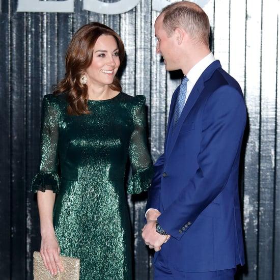 Kate Middleton's Green The Vampire's Wife Dress in Ireland