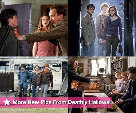 See New Photos From Harry Potter and the Deathly Hallows Featuring Daniel Radcliffe, Emma Watson, Rupert Grint and Bonnie Wright
