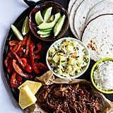 Slow-Cooker Hawaiian Hula Pork Tacos With Pineapple Slaw