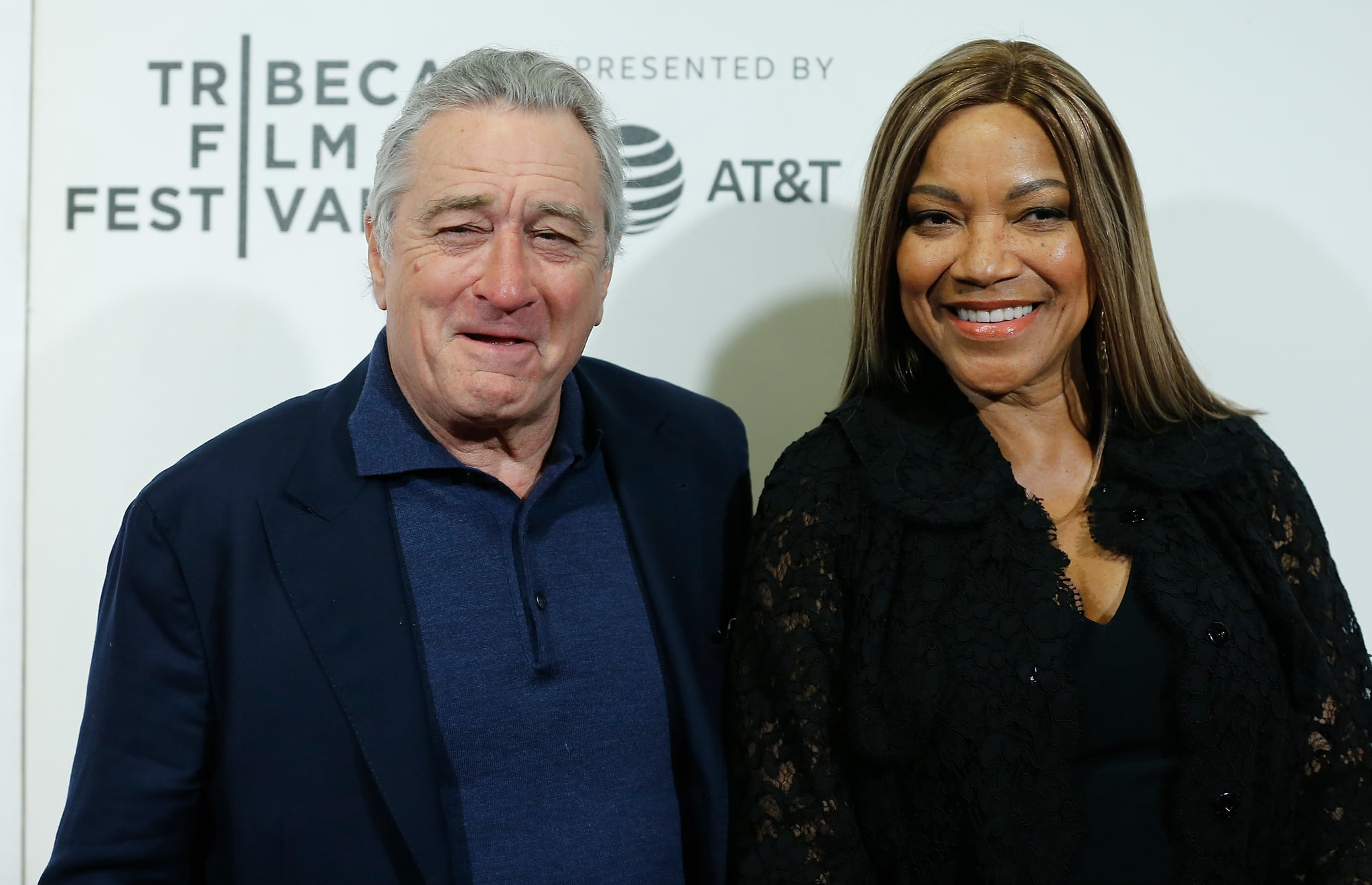 NEW YORK, NY - APRIL 28:  Robert De Niro and Grace Hightower De Niro attends 2018 Tribeca Film Festival closing night screening of