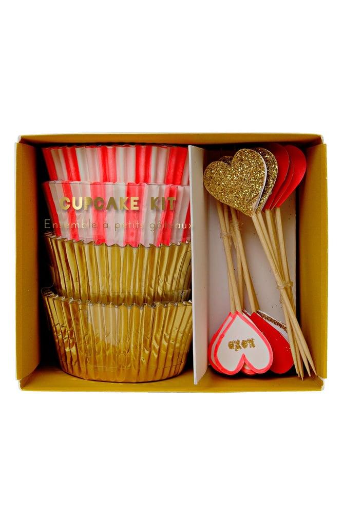 Meri Meri Mardi Gras Cupcake Kit