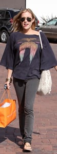 Kristin Cavallari Shops at Madison in Wildfox Top