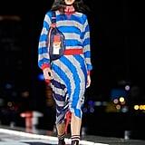 Hailey Baldwin on Tommy Hilfiger Runway in Shanghai 2018