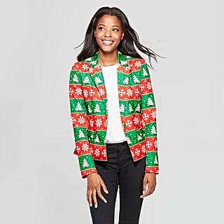 Ugly Christmas Blazers at Target
